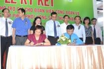 Ký kết thỏa thuận hỗ trợ giá nông sản sạch cho đoàn viên công đoàn