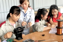 Trung tâm Dạy nghề Sơn Dương kết hợp dạy văn hóa với dạy nghề