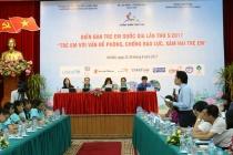 23 thông điệp của Diễn đàn trẻ em quốc gia sẽ được tập hợp báo cáo Thủ tướng Chính phủ