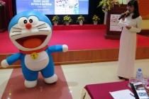 """Phát động Cuộc thi sáng tác khẩu hiệu  """"Doraemon với An toàn Giao thông""""năm 2017-2018"""