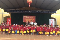 """Dự án """"Chuỗi trường học hữu nghị"""" của Canon Việt Nam """"tiếp sức"""" một năm học mới cho Trường Canon – Trấn Yên I, Lạng Sơn"""