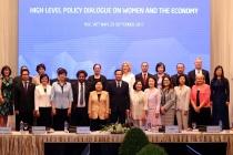 Đối thoại chính sách cao cấp về phụ nữ và kinh tế