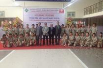 Trường ĐH Sư phạm Kỹ thuật Vĩnh Long: Khánh thành Trung tâm đào tạo Kỹ thuật TOYOTA