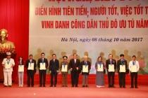 Hà Nội biểu dương 790 gương điển hình tiên tiến và vinh danh 10 Công dân Thủ đô ưu tú
