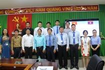 Trường Đại học SPKT Vĩnh Long khai giảng lớp bồi dưỡng sư phạm dạy nghề cho cán bộ và giáo viên nước bạn Lào