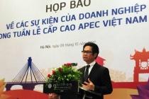 Tuần lễ cấp cao APEC Việt Nam 2017 hy vọng có nhiều sáng kiến để tạo môi trường kinh doanh thuận lợi cho doanh nghiệp