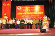 Sơn Tây: Kỷ niệm 70 năm ngày thương binh liệt sỹ