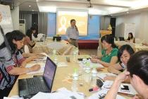 Tập huấn truyền thông thúc đẩy bình đẳng giới cho các cơ quan báo chí