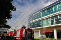 Diễn tập chữa cháy và cứu nạn cứu hộ phối hợp nhiều lực lượng: Nâng khả năng ứng cứu và xử lý sự cố tại cơ sở