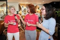 Các nghệ sĩ trẻ tham gia tập huấn về bình đẳng giới