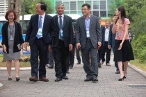 Thứ trưởng Doãn Mậu Diệp dự Đại hội đổi mới an toàn môi trường SamSung Việt Nam