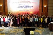 Công bố gói dịch vụ thiết yếu dành cho phụ nữ và trẻ em gái trải qua bạo lực