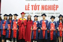Trường Cao đẳng Kinh tế TPHCM trao bằng tốt nghiệp cho 825 tân cử nhân