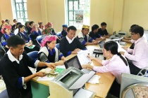 Đồng bào dân tộc thiểu số xã Dế Xu Phình (Mù Cang Chải) với nguồn vốn vay ưu đãi