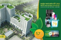 Nhận nhà trước Tết, quà tặng ngập tràn dịp khai trương nhà mẫu Eco City