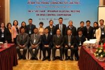 Việt Nam- Myanmar đẩy mạnh hợp tác phòng, chống ma túy