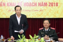 Thanh tra Bộ chủ động, nỗ lực, quyết liệt hoàn thành tốt nhiệm vụ năm 2017