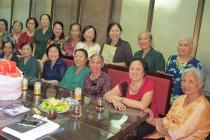 Tới thăm Hội Cựu thanh niên xung phong quận Hoàng Mai