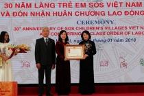 Làng trẻ em SOS Việt Nam: 30 năm xây dựng và phát triển