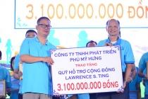 """Hơn 15.000 người tham gia Chương trình Đi bộ từ thiện Lawrence S.Ting lần thứ 13 – 2018 """" Bước chân chia sẻ"""""""