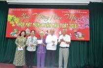 Gặp mặt thân mật cán bộ hưu trí của Bộ Lao động - Thương binh và Xã hội phía Nam nhân dịp Xuân Mậu Tuất 2018