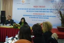 Những vấn đề cần quan tâm về sức khỏe tâm thần và tâm lý xã hội của trẻ em và thanh thiếu niên ở Việt Nam