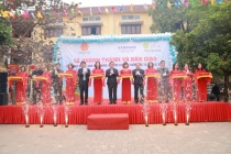 Samsung bàn giao hệ thống nhà vệ sinh tiêu chuẩn cho các trường học ở Bắc Giang