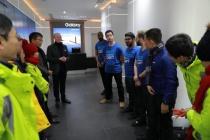 Những nhân viên ưu tú của các nhà máy sản xuất của Samsung tại Việt Nam lần đầu tiên tham dự lễ ra mắt bộ đôi siêu phẩm Samsung Galaxy S9/S9+ trên toàn cầu