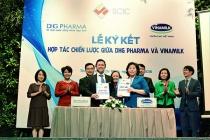 Vinamilk và Công ty Dược Hậu Giang ký kết hợp tác chiến lược nghiên cứu và phát triển sản phẩm