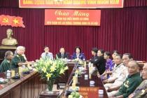 Thứ trưởng Lê Tấn Dũng tiếp đoàn người có công tỉnh Kon Tum