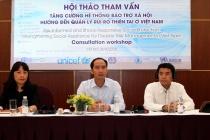 Tăng cường hệ thống bảo trợ xã hội hướng đến quản lý rủi ro thiên tai ở Việt Nam