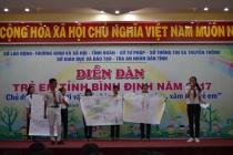 Bình Định: Nhiều hoạt động triển khai Tháng hành động vì trẻ em năm 2018