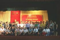 """Khai giảng lớp """"Bồi dưỡng chức danh Biên tập viên hạng III"""" K10-BTVIII.02. ĐT năm 2018 tại Hà Nội"""