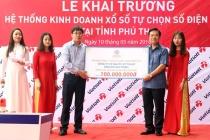 """Phú Thọ tiếp nhận 100 triệu đồng ủng hộ Quỹ """"An sinh xã hội"""" của tỉnh"""