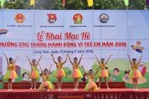 Lạng Sơn: Khai mạc hè - Hưởng ứng Tháng Hành động vì trẻ em năm 2018