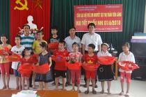 Trung tâm Công tác xã hội thành phố Hải Phòng tặng quà trẻ em khuyết tật nhân ngày Quốc tế Thiếu nhi