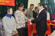 Thành phố Nam Định quan tâm hỗ trợ đối tượng bảo trợ xã hội, hộ nghèo