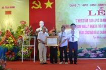 Huyện Thường Tín trao tặng danh hiệu Anh hùng LLVTND thời kỳ chống Pháp cho xã Tân Minh