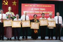 Quận Đống Đa tổ chức  truy tặng danh hiệu vinh dự Nhà nước 'Bà mẹ Việt Nam anh hùng'