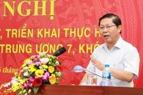 Bộ LĐTB&XH tổ chức Hội nghị học tập, quán triệt các Nghị quyết Hội nghị Trung ương 7, khóa XII