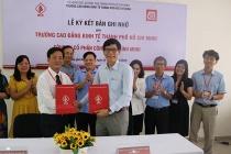 Ký kết hợp tác giữa Trường Cao đẳng Kinh tế TP.HCM và Công ty Cổ phần Chi nhánh Bình Minh