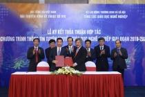 Tổng cục Giáo dục nghề nghiệp và VTC ký hợp tác truyền thông