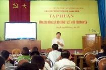 Quảng Ninh: Chú trọng nâng cao năng lực, nghiệp vụ cho cán bộ làm công tác phòng, chống tệ nạn xã hội