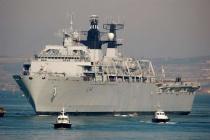 Tàu đổ bộ của Hải quân Anh áp sát quần đảo Hoàng Sa Chia sẻ