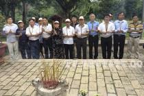 Hội CCB khối UBND huyện Quốc Oai thăm lại chiến trường xưa