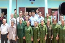 Hội Cựu Thanh niên xung phong huyện Ý Yên triển khai các hoạt động nghĩa tình đồng đội, đền ơn đáp nghĩa