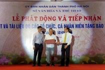 Bảo tàng Hà Nội tiếp nhận hơn 1000 hiện vật quý do các tổ chức, cá nhân hiến tặng