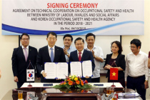 Strengthen promoting between Vienam and Korea in the field of Occupational Safety and Health
