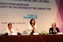 Thúc đẩy bình đẳng giới trong sửa đổi Bộ luật Lao động