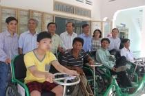 Tây Ninh: Tăng cường điều trị phục hồi chức năng cho người khuyết tật